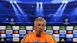Madrid coach Carlo Ancelotti spoke highly of compatriot Roberto Mancini