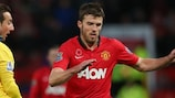 Michael Carrick is in his eighth season at United