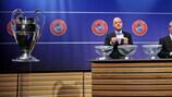 Gianni Infantino (sorteggio terzo turno preliminare di UEFA Champions League)