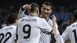 El Madrid, lanzado hacia semifinales