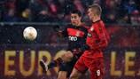 Benfica's Nicolás Gaitán steals a march on Leverkusen's Sven Bender