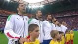 Guarda l'Italia cantare l'inno nazionale a Euro 2016