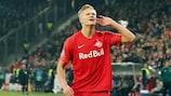 Erling Braut Haaland enjoyed a prolific group stage for Salzburg