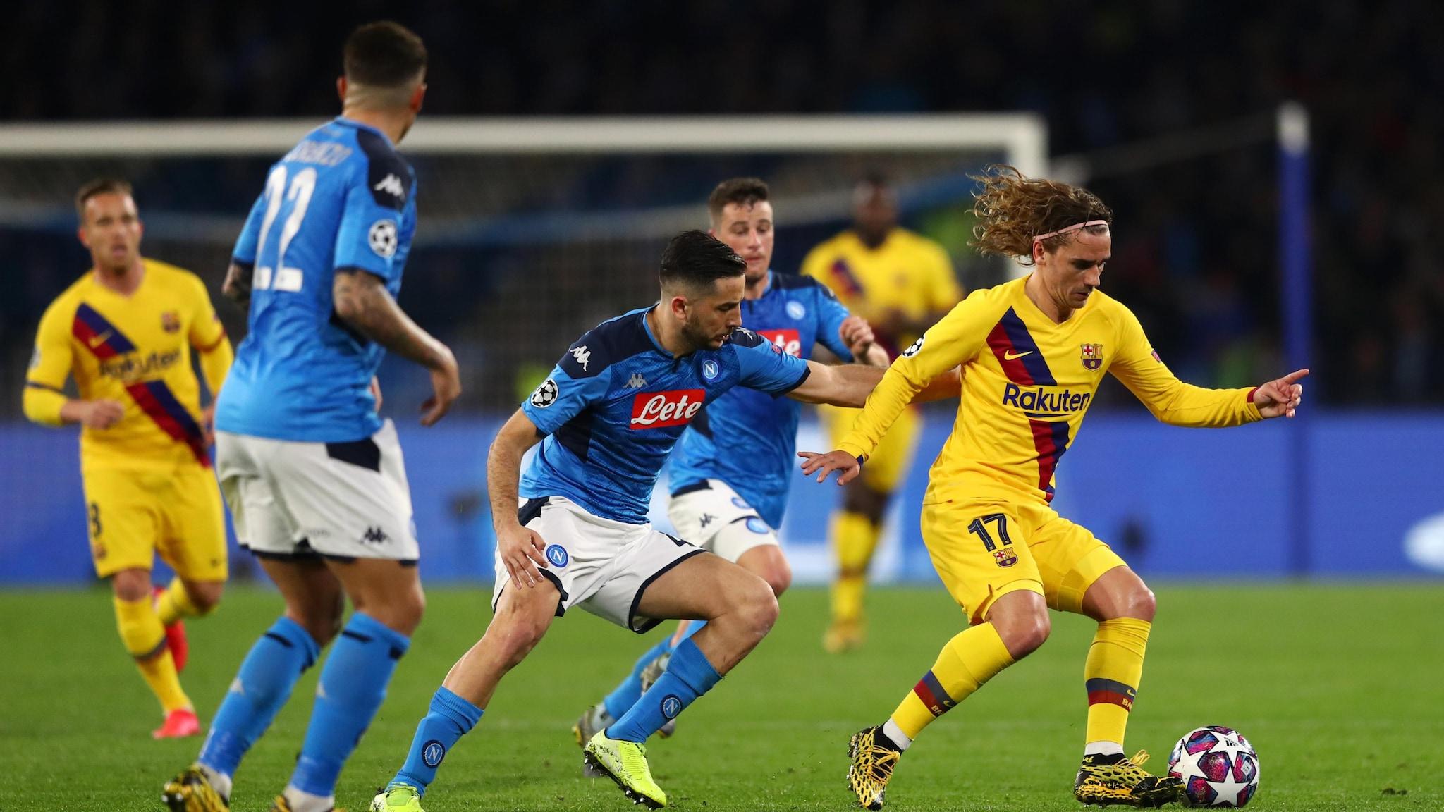 Image result for napoli vs barcelona uefa