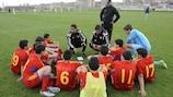 Занятие с молодежью в Северной Македонии