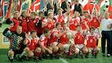 Invité surprise, le Danemark a déjoué les pronostics pour remporter l'EURO 1992