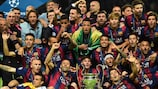 Barcelona got the better of Juventus in Berlin