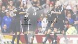 Ronaldo  lieferte im Old Trafford eine Galavorstellung