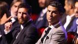 Lionel Messi y Cristiano Ronaldo, en una gala en Mónaco