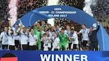 A Alemanha venceu pela segunda vez o Campeonato da Europa de Sub-21
