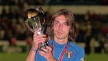 Andrea Pirlo, vainqueur de l'EURO Espoirs 2000 avec l'Italie