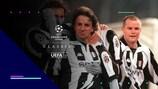 Del Piero celebra un gol con la Juventus