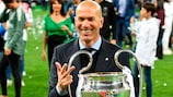 Zidane, con el título de su tercera Champions League como entrenador