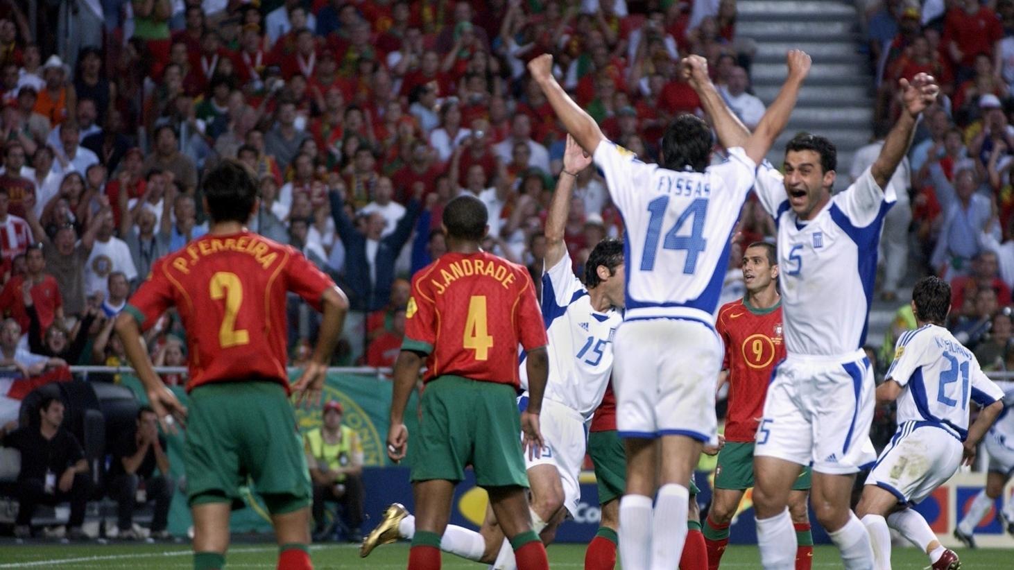Griechenland holt europäische Krone bei der EURO 2004   UEFA EURO 2020
