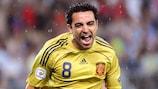 Spaniens Xavi glänzte im ersten Halbfinale der UEFA EURO 2008 gegen Russland