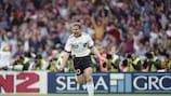 Oliver Bierhoff segna il golden gol nella finale di UEFA EURO '96