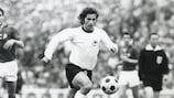 Die deutschen Spieler feierten 1972 mit ihren Fans den ersten EM-Titel für das Land