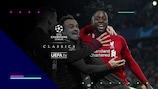 Divock Origi dopo il gol decisivo ad Anfield