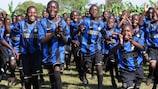 La UEFA Foundation for Children sostiene progetti in quattro paesi dell'Africa subsahariana