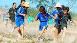 Fundação da UEFA para as Crianças: cinco anos iluminando a vida de crianças