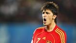 David Villa de España incluido en el Equipo del Torneo
