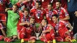Le Bayern fête son sacre en Super Coupe