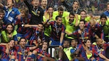 Barcelona become three-time UEFA Super Cup champions