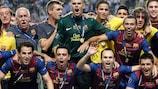 Barcelona feiert den vierten UEFA-Superpokal