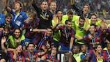 Barcelona gewann den UEFA-Superpokal zum dritten Mal