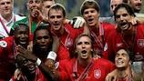 Liverpool feiert den UEFA-Superpokal 2005