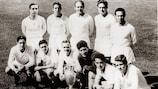 The star-studded Madrid side included Raymond Kopa, Héctor Ríal, Alfredo di Stéfano, Ferenc Puskás and Francisco Gento