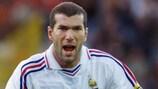Zinédine Zidane war Frankreichs Kopf bei der UEFA EURO 2000