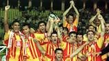2000: Gloria Galatasaray con Jardel