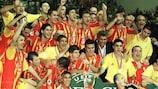 Galatasaray gewann 2000 den UEFA-Superpokal