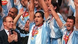 Lazio claim 1999's edition of the UEFA Super Cup