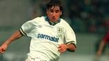 Massimo Crippa del Parma ha segnato il gol della vittoria della Supercoppa UEFA 1993