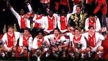 """""""Аякс"""" после завоевания Суперкубка УЕФА в 1995 году"""