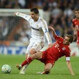 Disfruta de las mejores imágenes del partido de ida de esta semifinal ya clásica de la Champions League de 2012.