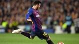 Falta de Golazos de Messi