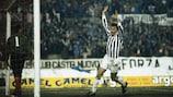 Zbigniew Boniek exulte après l'un de ses buts pour la Juventus