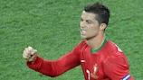 Криштиану Роналду забил на ЕВРО-2012 три мяча