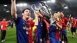 Barcelona alcanza la fama en Roma en 2009