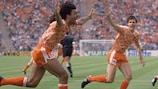 Capitaneada por Ruud Gullit, Holanda ganó su primer gran torneo en la EURO 1988