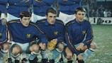 Belgiens Paul Van Himst (Mitte)