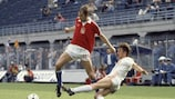 Unentschieden zwischen Niederlande und Tschechoslowakei
