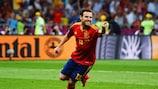 Juan Mata, autore del quarto gol in finale di EURO 2012