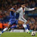 En la temporada 2013/14 un buen gol de  Mohamed Salah dio una notable victoria al Basilea en Stamford Bridge.