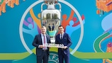 Bucharest is the latest UEFA EURO 2020 host city to launch its logo