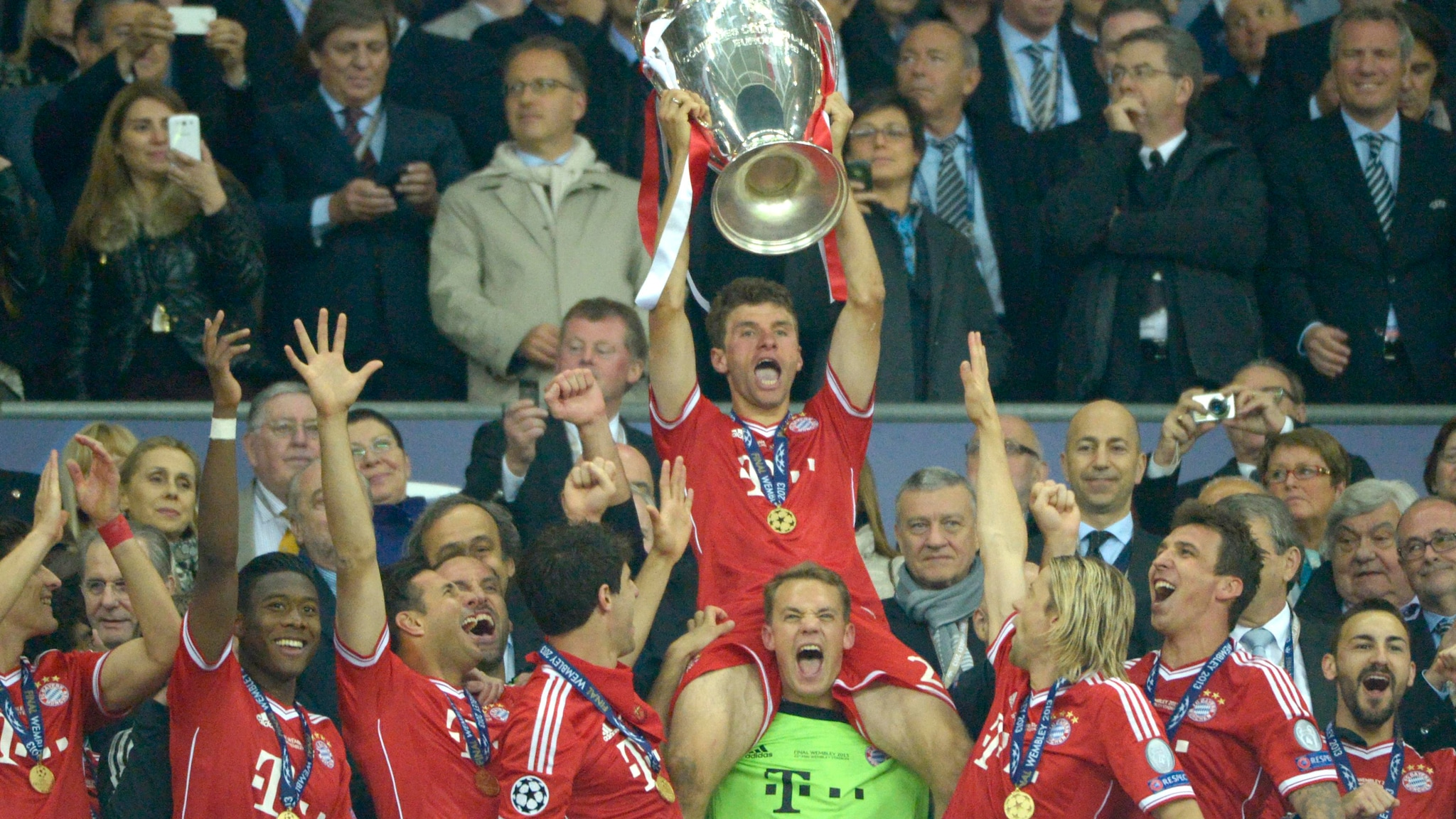 Thomas Müller on Bayern's 2013 Champions League success | UEFA ...