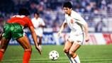 Carlos Santillana im Spiel gegen Portugal